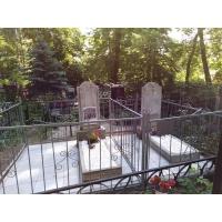 Благоустроили захоронения на Бугровском кладбище