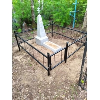 Покрасили ограду на старом Сормовском  кладбище