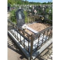 Изготовление и установка памятника на благоустроенной могиле на кладбище Федяково