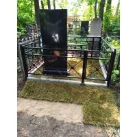 Полное благоустройство захоронения на кладбище Бугровское