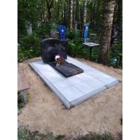 Обустройство захоронения на кладбище Автозаводское