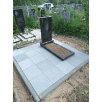 Благоустройство захоронения на кладбище Федяково
