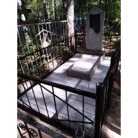 Благоустройство могилы на Афонинском кладбище