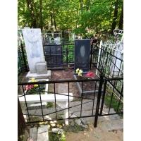 Обустроили могилу на кладбище Марьина Роща