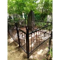 Подъем памятника и обустройство могилы на кладбище Бугровское