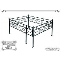 Металлическая ритуальная ограда 18