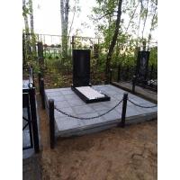 Благоустройство могилы на кладбище Красная Этна