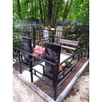 Комплексное благоустройство на кладбище Марьина Роща