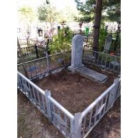 Убрались на могиле на Сормовском кладбище