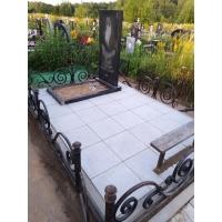 Благоустройство могилы на кладбище Федяково