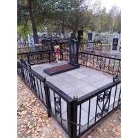 Полное устройство захоронения на Сормовском кладбище