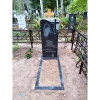 Изготовление ограды и памятника для захоронения на кладбище Сортировка