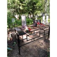 Изготовление ограды и обустройство могилы на кладбище Сортировка