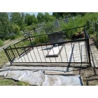 Привели в порядок могилу на кладбище Вязовка