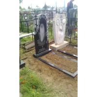 Установка нового памятника на кладбище в Нижегородской области
