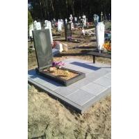 Благоустройство захоронения на кладбище в Нижегородской области