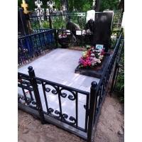 Благоустройство могилы на кладбище Бугровское