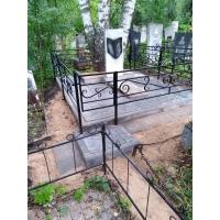 Комплексное благоустройство на кладбище Румянцевское